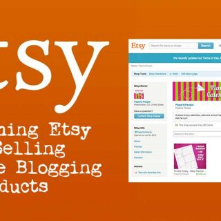 Researching Etsy For Selling Lifestyle Blogging Products