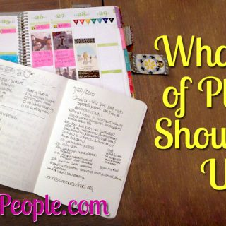What Type Of Planner Should You Use?