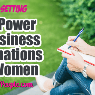 The Power of Business Affirmations for Women ... Affirmations for women business owners… one of the very best ways I have found to focus on money and wealth. Using positive affirmations and the law of attraction daily can help achieve your goals and increase your business confidence! #affirmations #goals #goalsetting