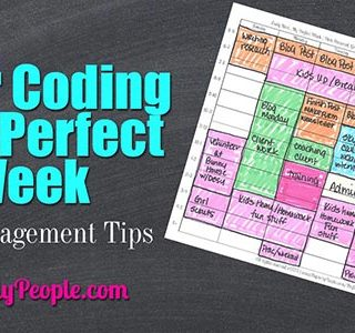 Color Coding Your Perfect Week