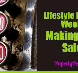Lifestyle Blogging Week 10 - Making Some Sales!