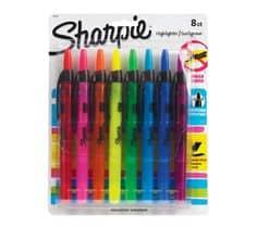 Sharpie Highlighter Pens