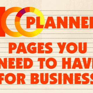 100 Planner Pages You Need To Have For Business