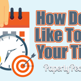 How Do You Like To Plan Your Time?