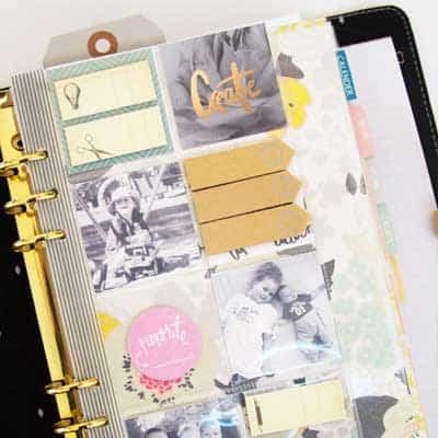 Half Planner Dashboard, Half Photo Book
