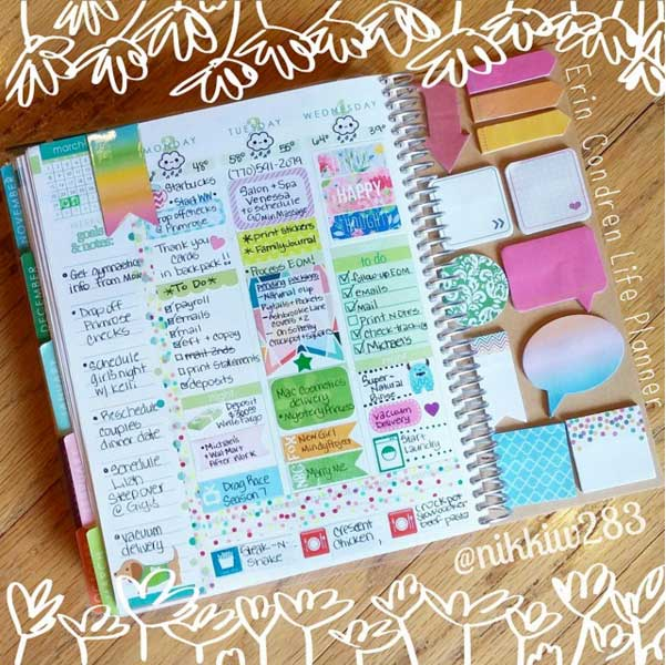 12 super fun dashboard ideas for your planner paperly people for What is a planner dashboard