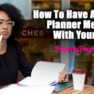 How To Have An Offsite Planner Meeting With Yourself | Planning Your Business