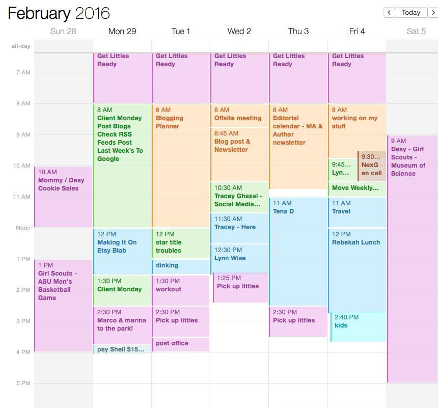 My Online Calendar