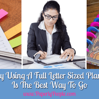Why Using A Full Letter Sized Planner Is The Best Way To Go
