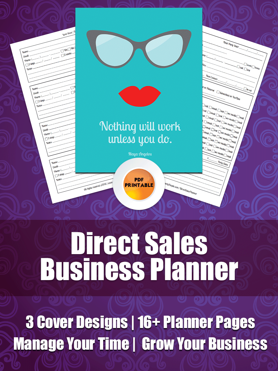 Direct Sales Planner - Paperly People