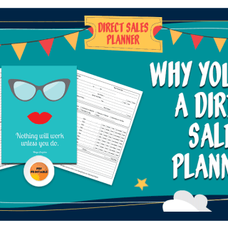 Why You Need A Direct Sales Planner