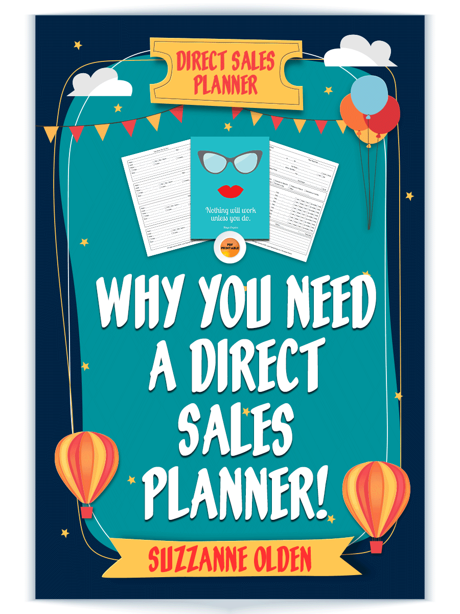 Why You Need A Direct Sales Planner! The folks over at Paperly People got together with people from all kinds of party plan businesses to come up with their awesome direct sales planner.