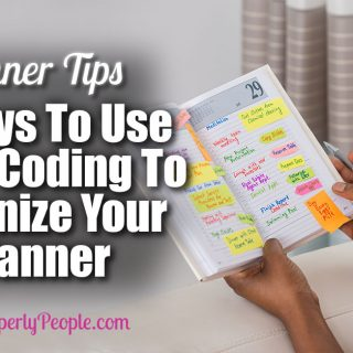 3 Ways To Use Color Coding To Organize Your Planner | Planner Tips