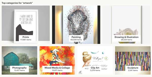 Artwork Clipart Etsy Categories