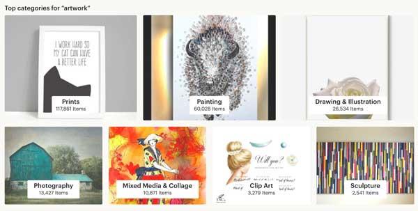 Artwork Clipart Etsy Categories