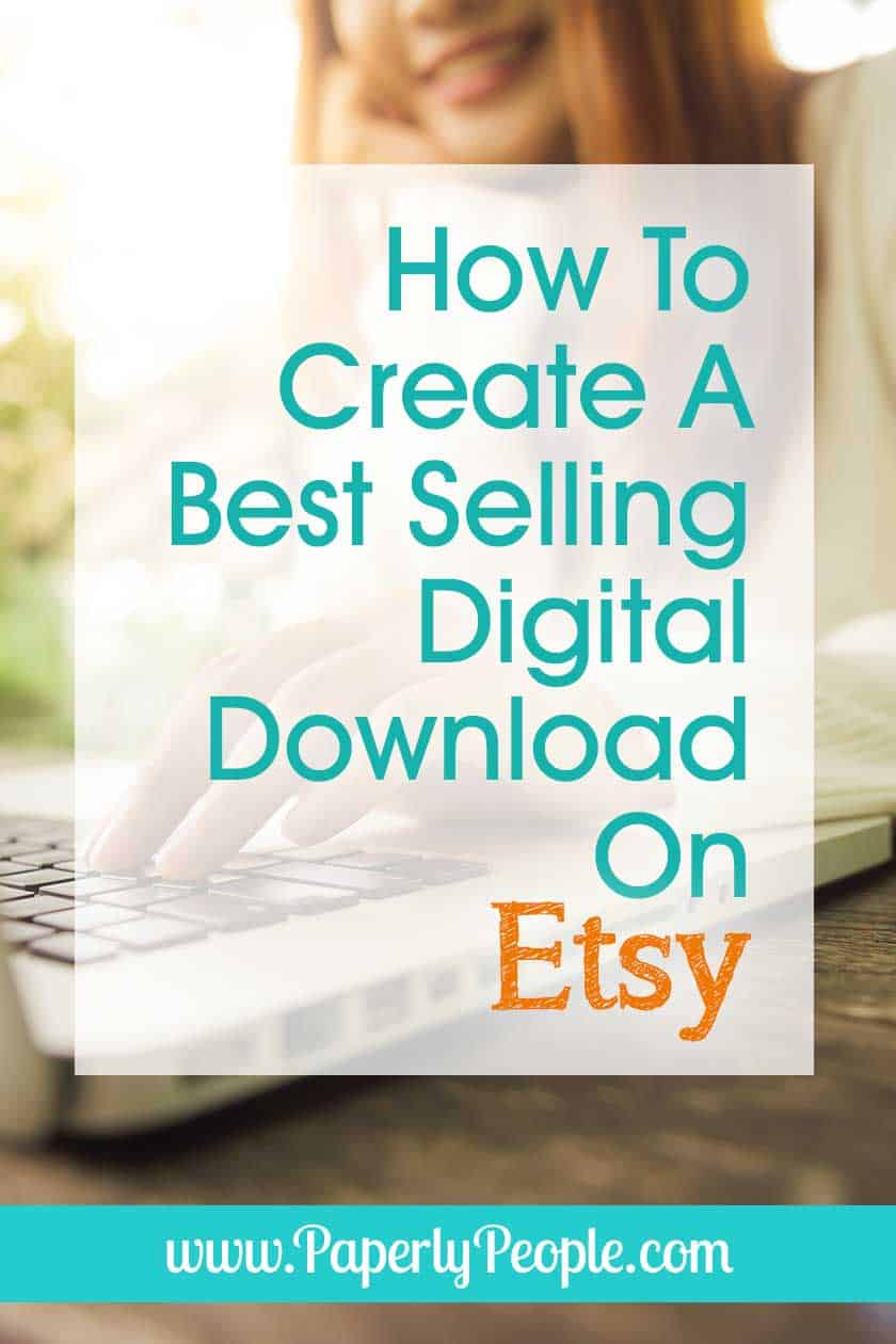 How To Create A Best Selling Digital Download On Etsy… As an Etsy shop owner it would be great if you knew which of your Etsy digital download ideas would work best for your business! This post will help you with tips for picking the right products for selling on Etsy. #etsyshop #etsyseller