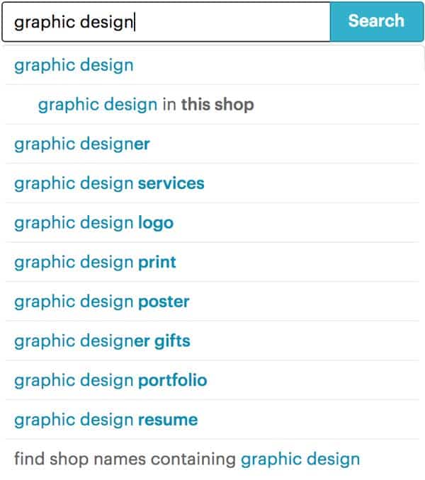 Graphic Design Search
