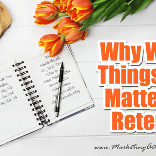 Why Writing Things Down Matters For Retention... We all know that one person that can only be counted on to do something if they write it down. I actually know a few. I don't mean typing a note on their phone, but physically writing a sticky note, index card or a note on a calendar. They seem to have science on their side too! It's been scientifically shown that writing things down helps you to retain them in your memory better.