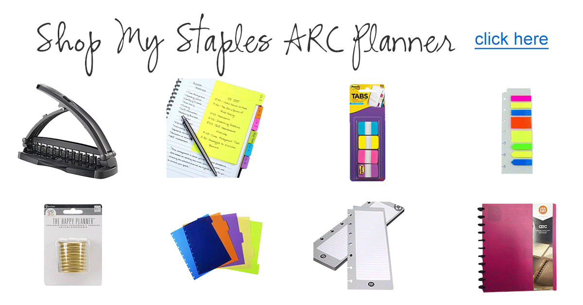 arc notebook tips creating the ultimate personalized arc planner