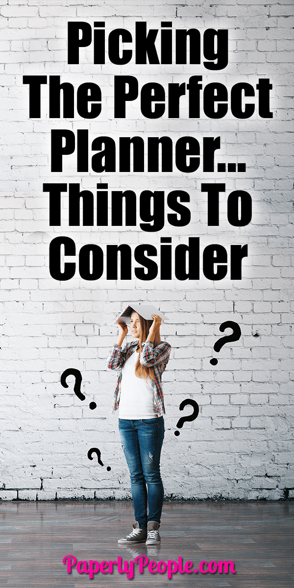 Most people just opt for what they always use, but now might be a good time to consider a new planner or system. There are so many options so how do you choose?