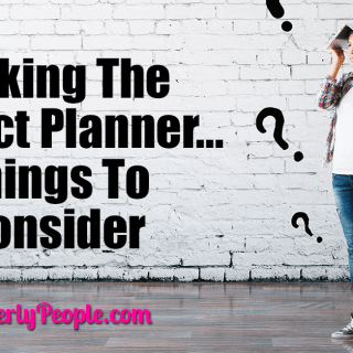 Picking The Perfect Planner – Things To Consider