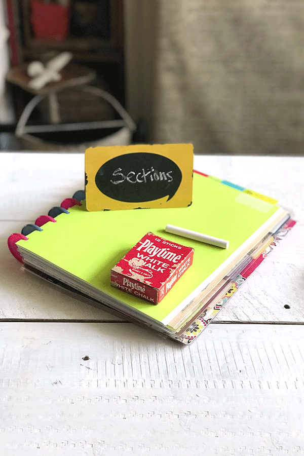 Organizing Your Planner By Topic - Part of my organizing your paper planner post! #planner ##paperplanner