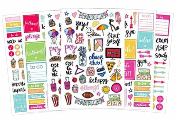 Planner Stickers - Cute Planner Accessories