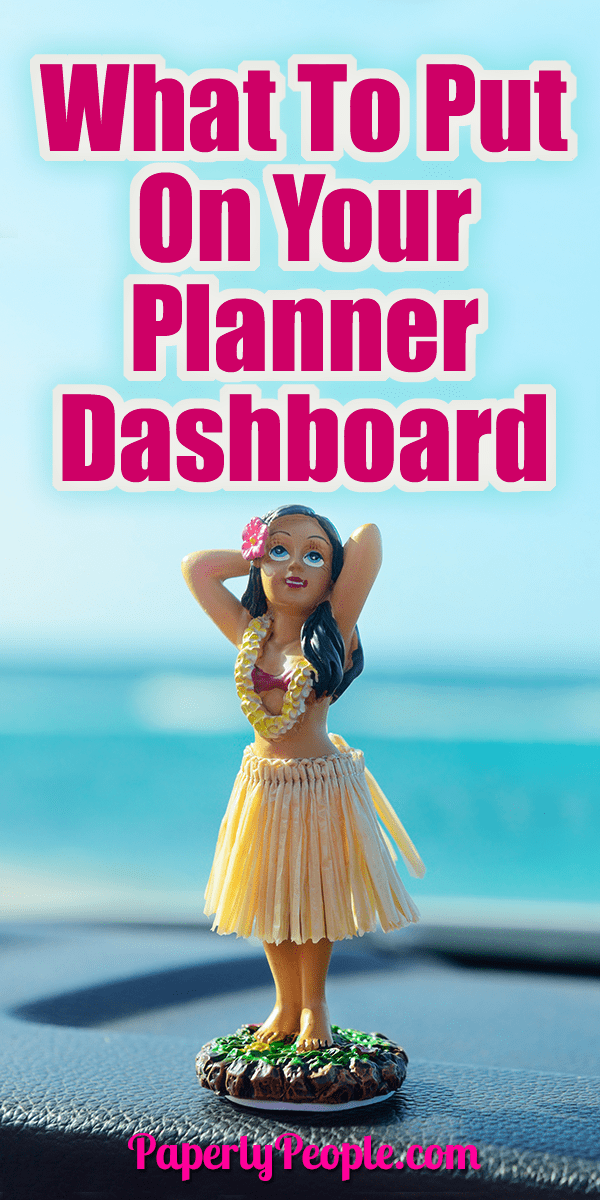 What to put on your planner dashboard paperly people for What is a planner dashboard