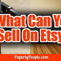"What Can You Sell On Etsy? - One question I hear a lot is ""What can you sell on Etsy?"" Etsy is a wee bit of a different sales platform, somewhere between the free-for-all that is Ebay and the more restrictive Amazon. Here are the four categories of things you can sell on Etsy."