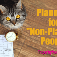 """Planners for """"Non-Planner"""" People"""