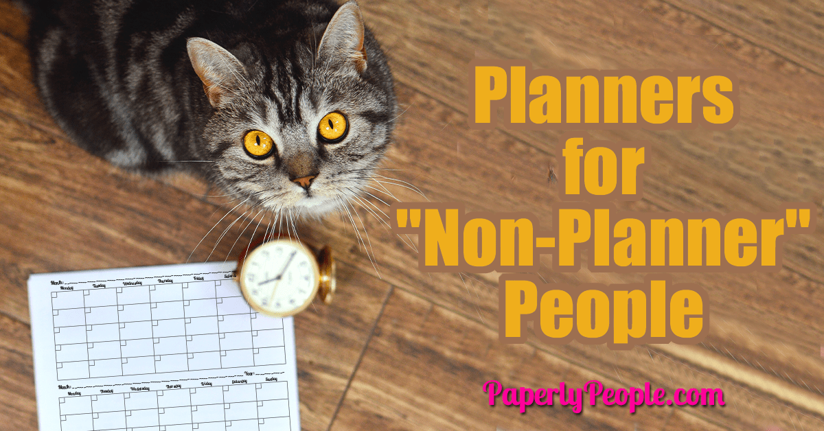 "Planners for ""Non-Planner"" People"