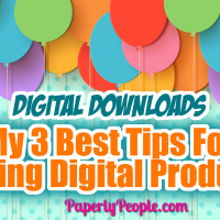 My 3 Best Tips For Selling Digital Products... If you are just getting started selling digital products on Etsy, Shopify or your own website, there are some great tips and ideas that I have come across over the years that make a big difference in the number of sales that you can make!