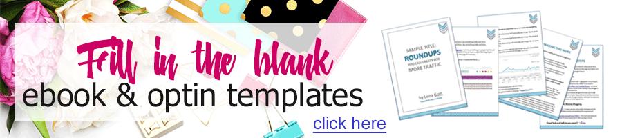 Ebook Templates Banner