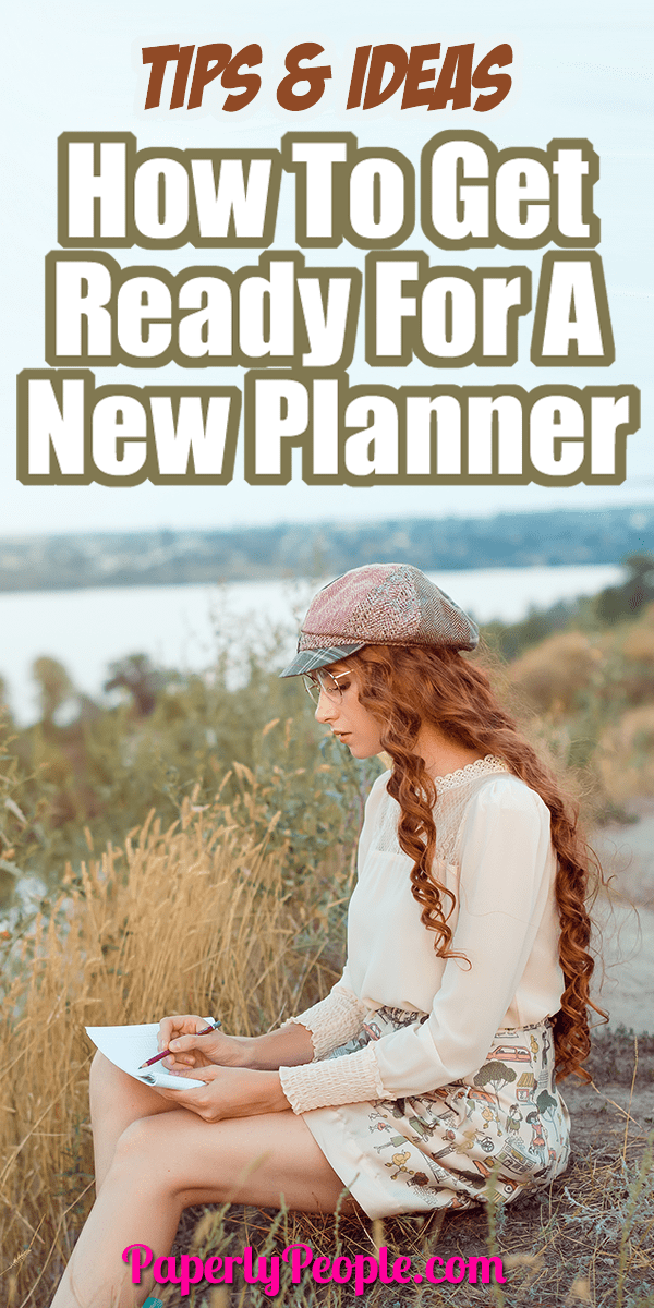 Tips & Ideas To Get Ready For A New Planner - So you finally did it, you decided to get a planner and decided on what kind to get. The anticipation is almost as fun as getting the planner in hand. Take this time to get yourself ready for the big day so you get started on the right foot and don't give up.