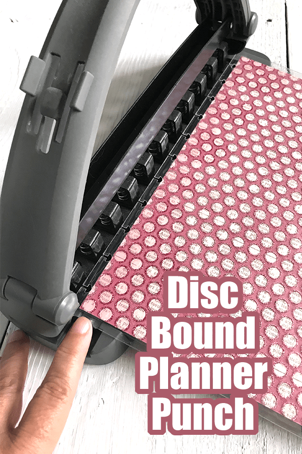 Disc Bound Planner Punch - Staples ARC Planner... Planner Tools and Accessories