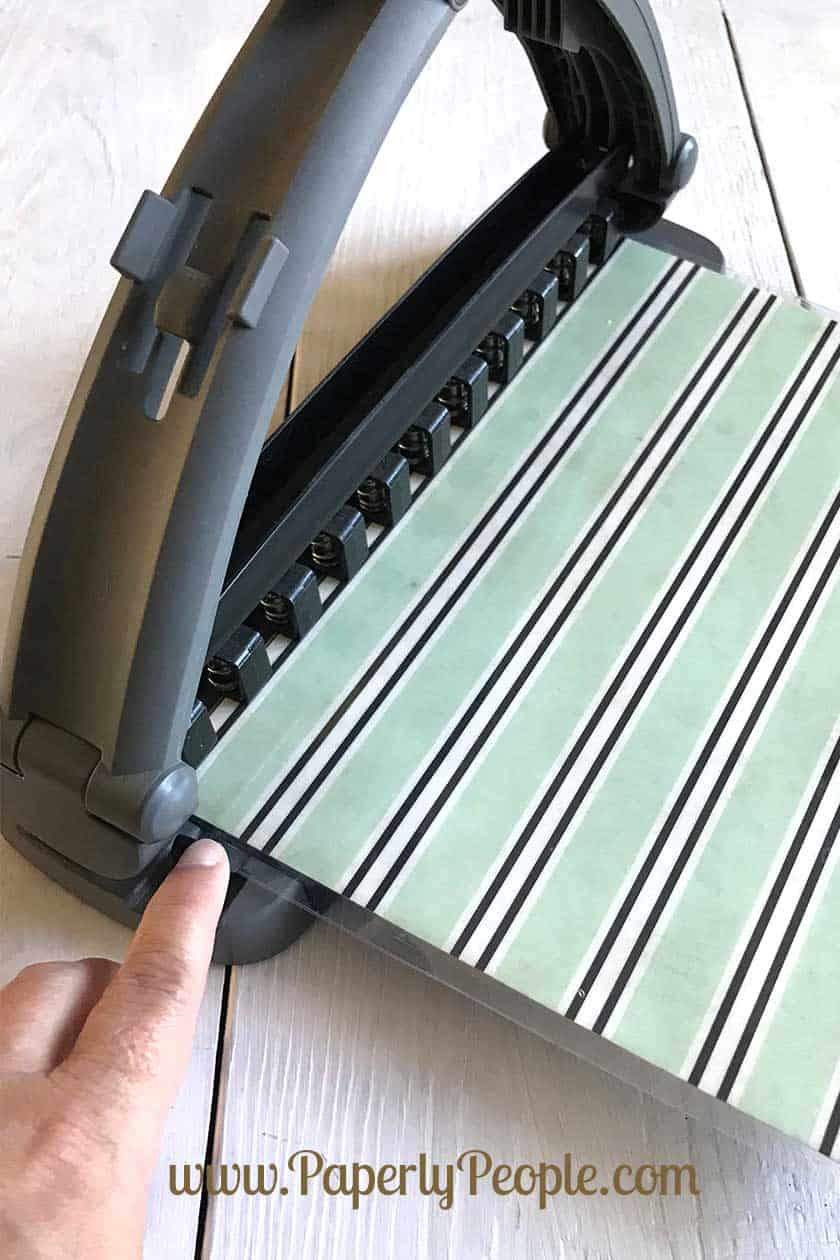 Use the ARC hole punch to make the disc holes... awesome homemade planner dividers for your DISC ARC Planner.