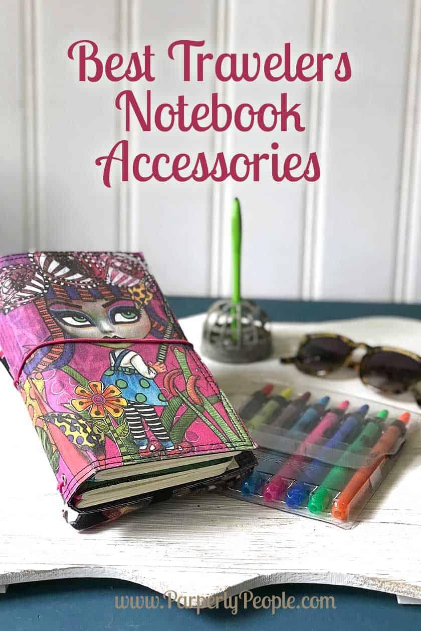 Best Travelers Notebook Accessories - Dyan Reaveley Travelers Notebook Cover - Believe #planner #travelersnotebook #bujo