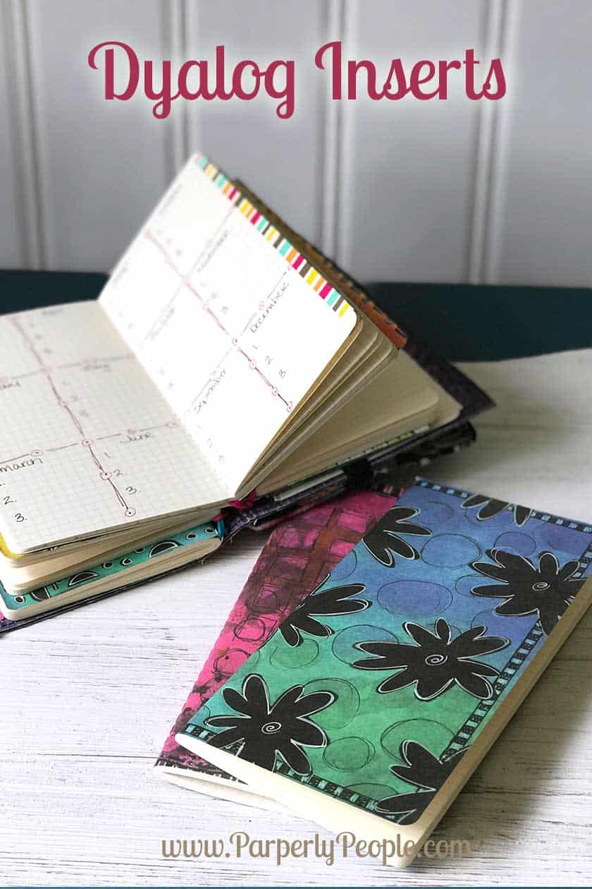 Ranger Ink Dyalog Inserts - Travelers Journal Notebook Planner Inserts ... Great products for making your diy travelers notebook cool and functional.