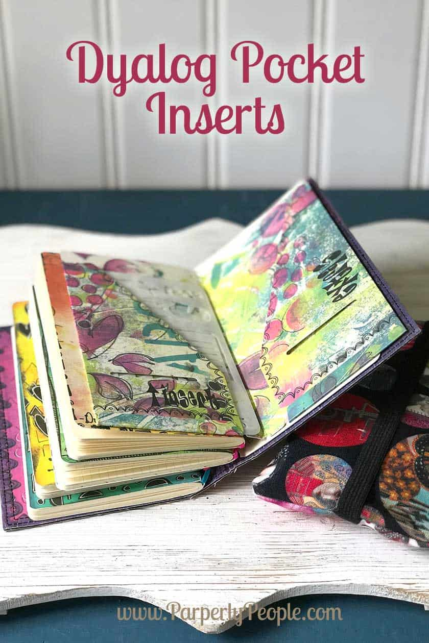 Dyalog Travelers Notebook Pocket Folders or Inserts ... great for organizing your diy travelers journal. Part of my favorite planner accessories products post!