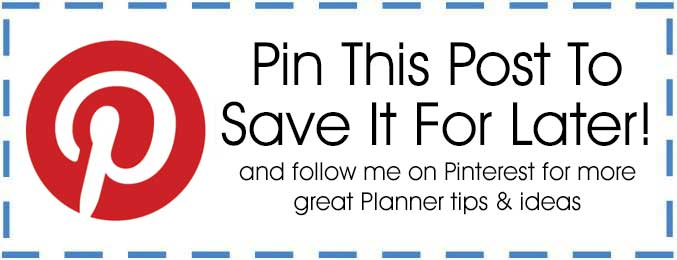 Planner Pin This Button