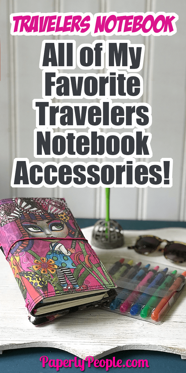 All of My Favorite Travelers Notebook Planner Journal Accessories ... Here are my top tips and ideas for putting together your own DIY travelers journal. From inserts and covers to clips and washi tape, I show all my favorite accessories and let you know where to get them! #bujo #planner #dyalog