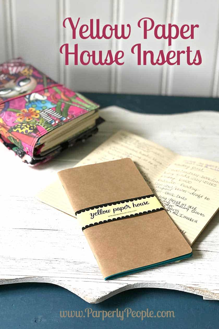 Yellow Paper House Travelers Notebook Inserts... Awesome inserts from Etsy! Their products are super well made and fun to use. Great for your DIY Travelers Journal.