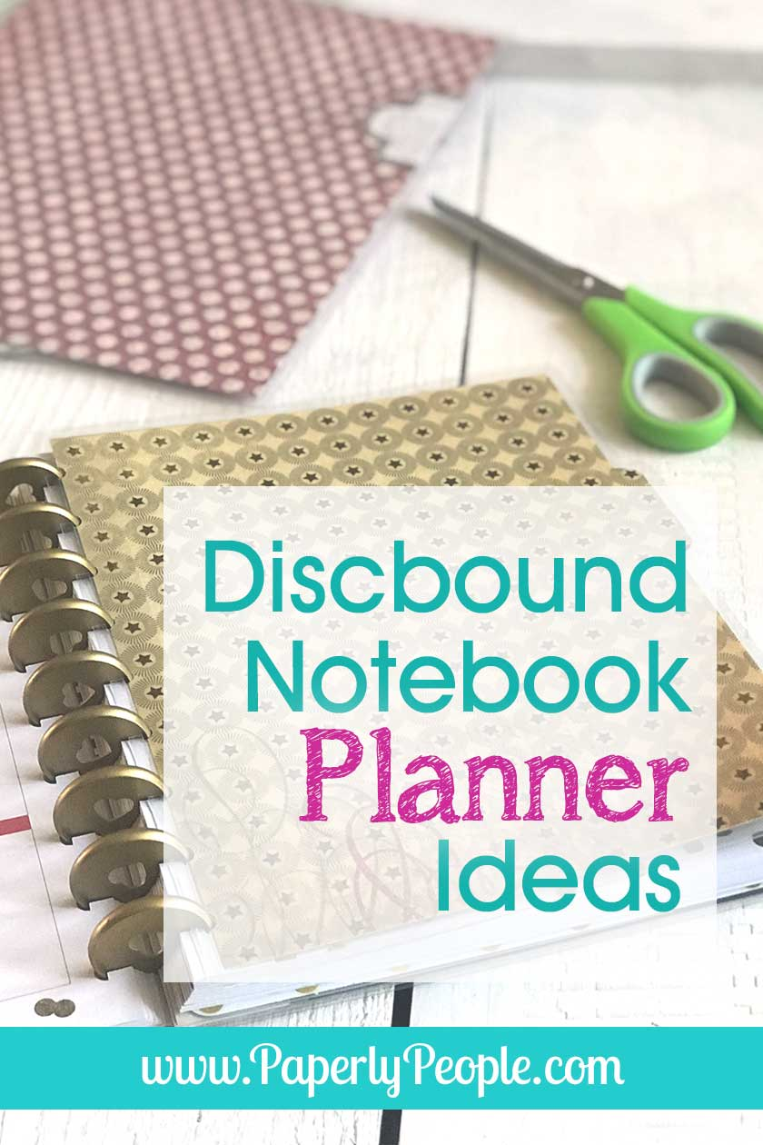 Discbound Notebook Planner Ideas!... All my best posts about how to use a Staples ARC notebook as a planner, including tips and ideas for setup, DIY accessories and printable planner pages! I absolutely fell in love with disc bound notebooks and planners about 5 years ago and haven't looked back since! #planner #planners #discbound
