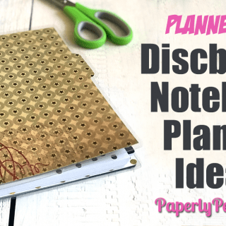 All my best posts about how to use a Staples ARC notebook as a planner, including tips and ideas for setup, DIY accessories and printable planner pages! I absolutely fell in love with disc bound notebooks and planners about 5 years ago and haven't looked back since! #planner #planners #discbound
