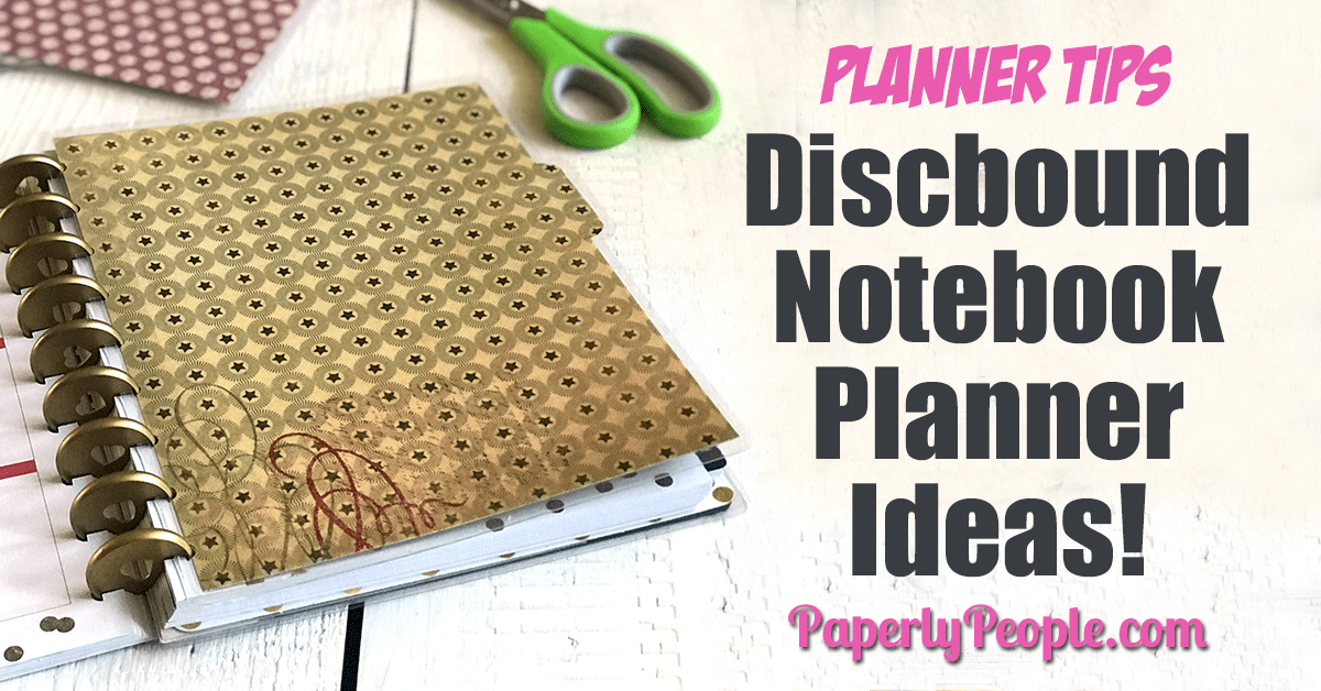 Discbound Notebook Planner Ideas Paperly People
