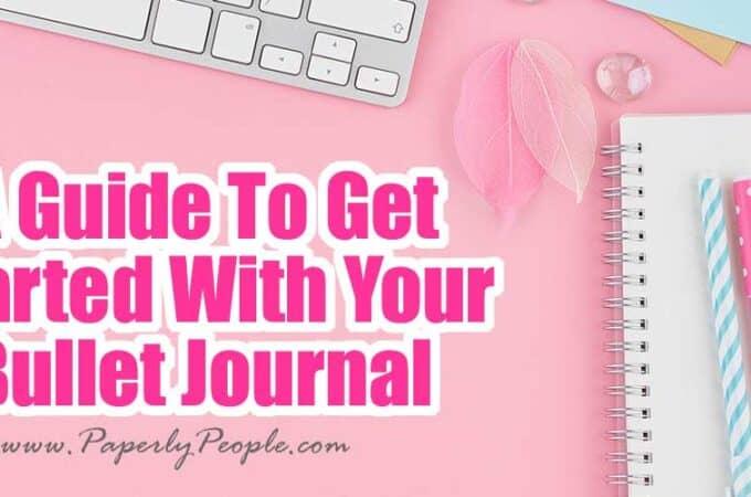 How To Start Bullet Journaling